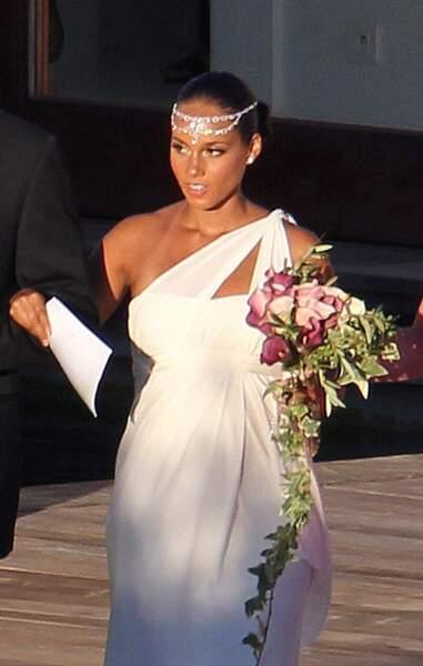 Les plus belles coiffures pour un mariage - Alicia Keys