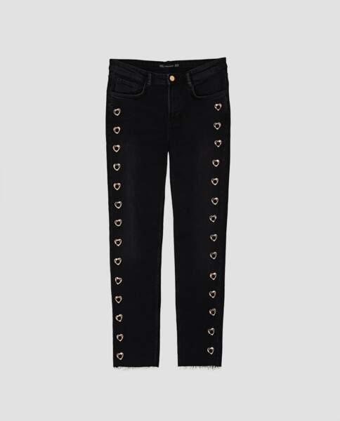 Zara : Jean cinq poches taille normale, 25,99 euros au lieu de 39,95 euros