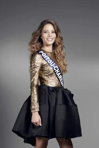 Miss Poitou-Charentes : Magdalène Chollet – 19 ans