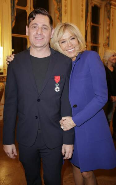 Brigitte Macron et Olivier Py, ministère de la Culture