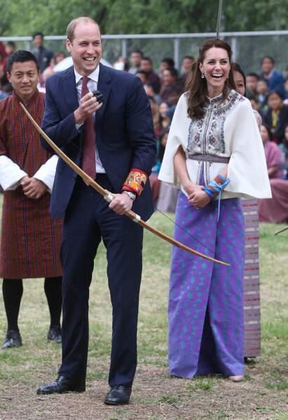 Le prince William en rit aussi