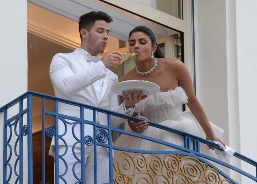 Son mari Nick Jonas a fait d'elle la plus heureuse des femmes en lui offrant une pizza