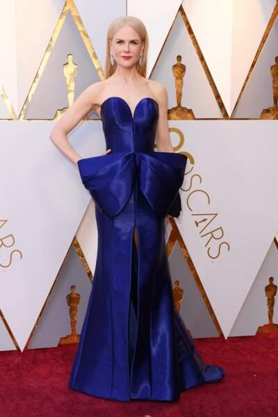 Nicole Kidman à la 90e cérémonie des Oscars, à Los Angeles le 4 mars 2018