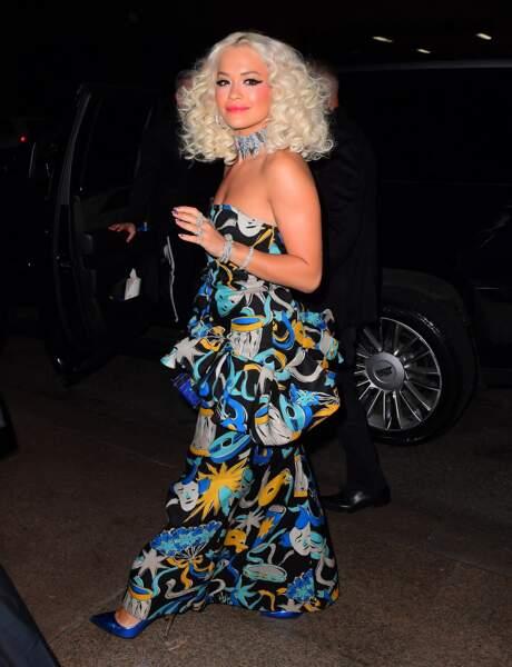 Rita Ora au mariage de Marc Jacobs