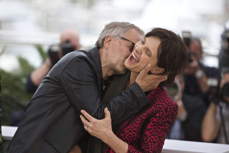 Il a embrassé Juliette Binoche