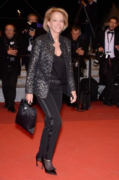 Et la femme politique Frédérique Bredin