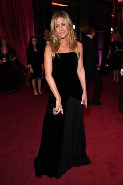 Jennifer Aniston lors de la 75e cérémonie des Golden Globes, le 7 janvier 2018