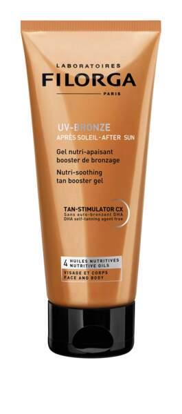 UV-Bronze Après-soleil anti-âge visage et corps, 24,90 €, Filorga