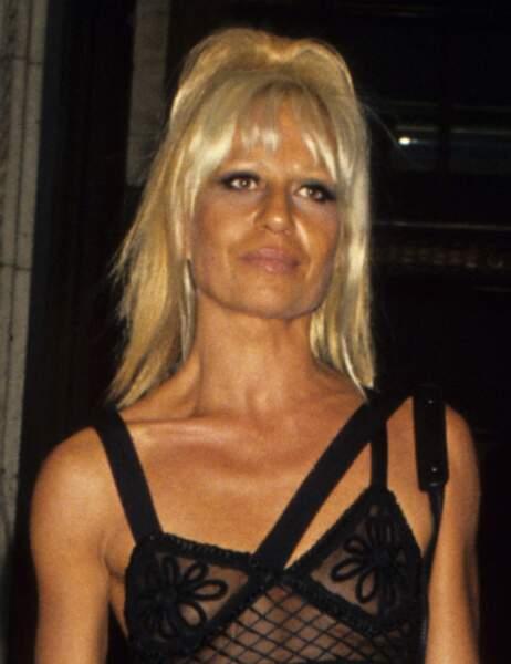 Donatella Versace avant