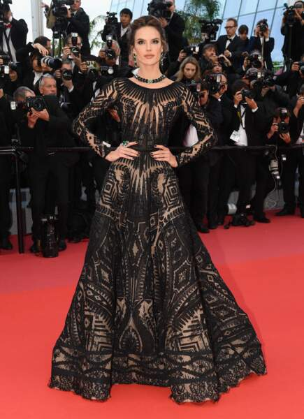 Cannes 2018 - Kristen Stewart envoie valser la bienséance - Alessandra Ambrosio