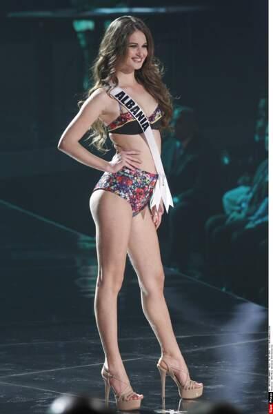 Miss Albanie, Megi Luka