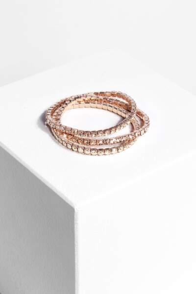 1.2.3 collection ornée de Swarovski : Bracelet Qetch
