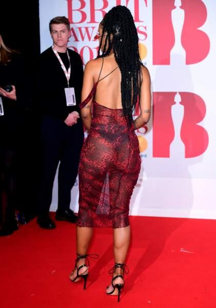 IAMDDB aux Brit Awards 2018, le 21 février à Londres
