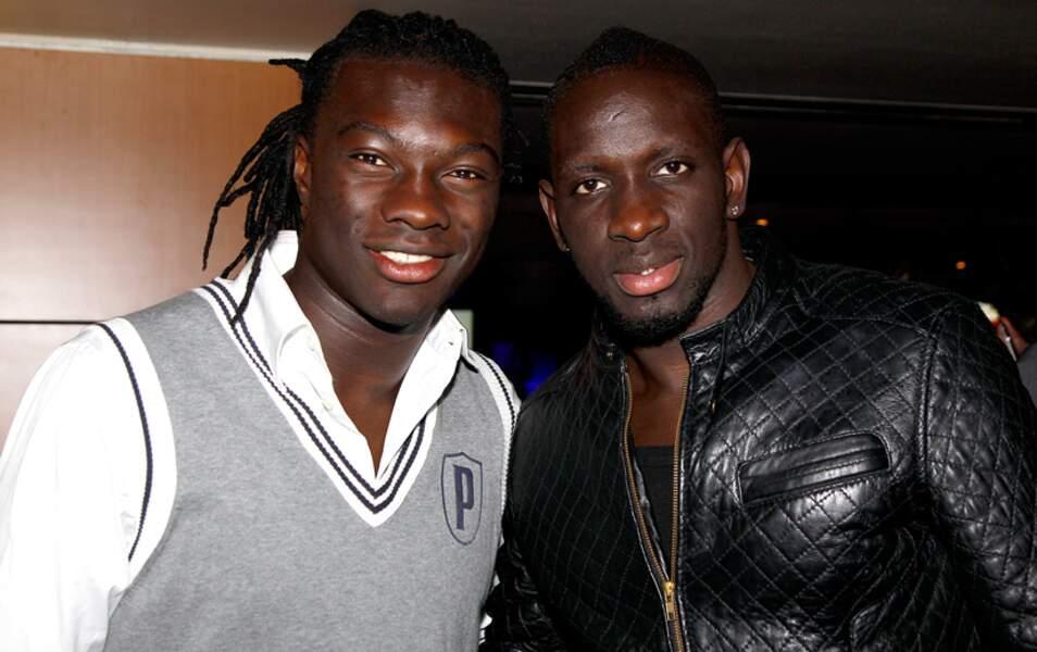 Bafetimbi Gomis et Mamadou Sakho