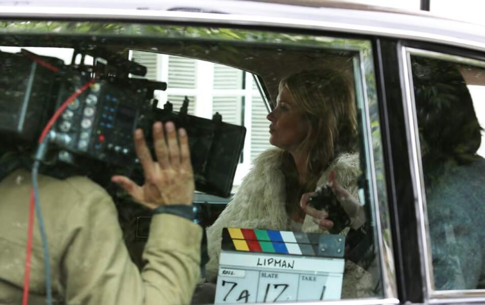 En tournage à Londres pour une publicité
