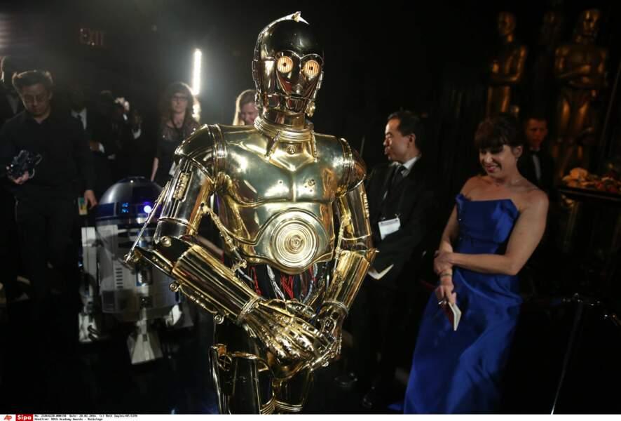 R2-D2 n'a pas eu l'Oscar « Mais tu es tombé dedans quand tu étais petit !!!! »