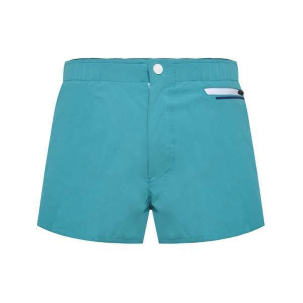 Short de bain bleu turquoise, Colmar, 65€