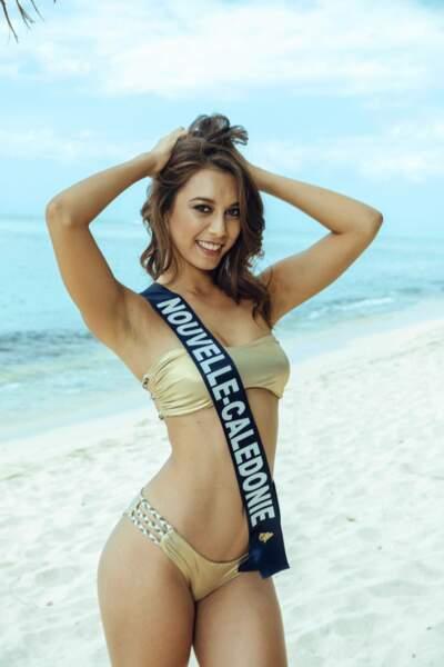 Miss Nouvelle-Calédonie 2018: Amandine Chabrier