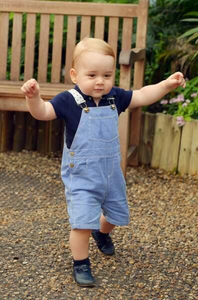 Anniversaire du Prince George - 22 juillet 2014  : 1er anniversaire et 1ers pas