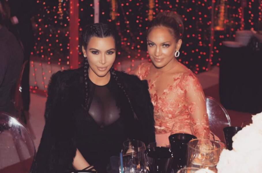 La bff de Jennifer Lopez? Kim Kardashian!!! (Faut pas pousser non plus)