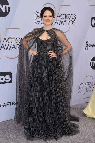 Sophia Bush aux SAG Awards 2019, le 27 janvier, à Los Angeles