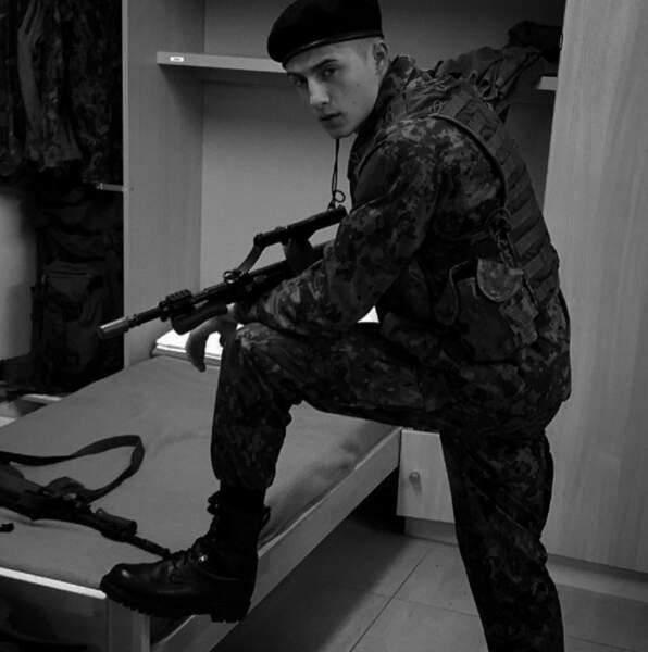 Dylan a fait l'armée, un atout non négligeable pour les épreuves de Koh-Lanta