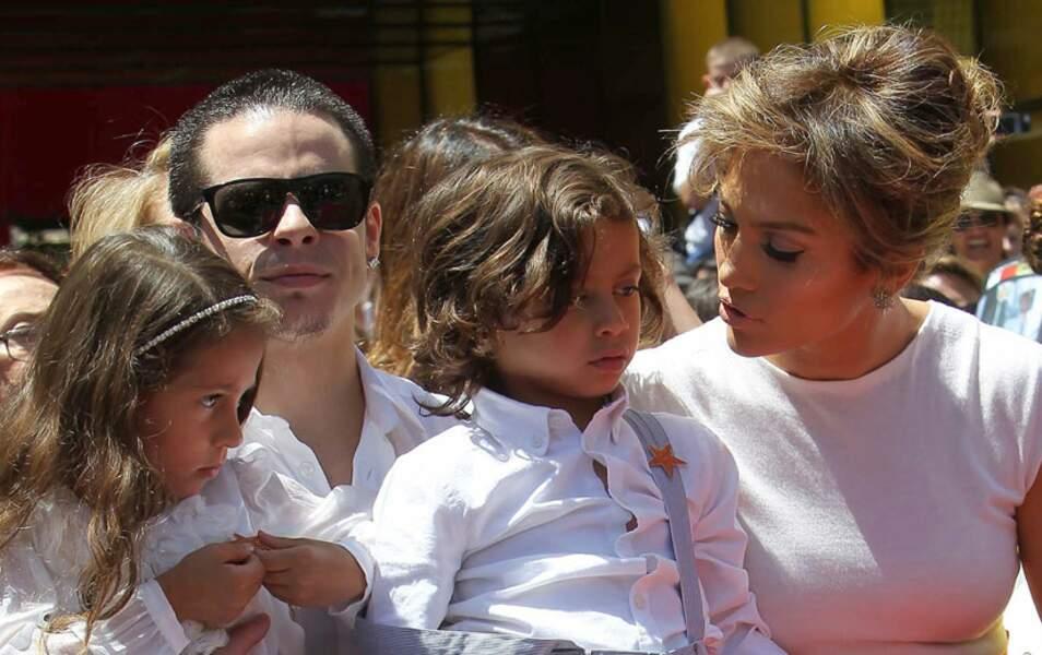 Casper Smart, Jennifer Lopez et ses enfants, Max et Emme