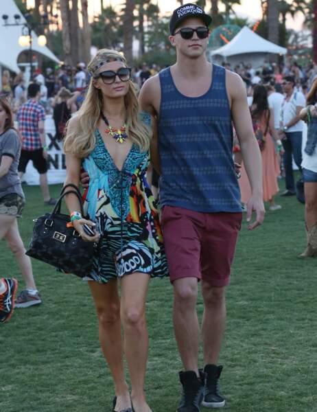 Paris Hilton avec son petit ami Riper Viperii