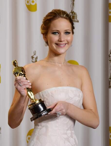 Jennifer Lawrence aux Oscars