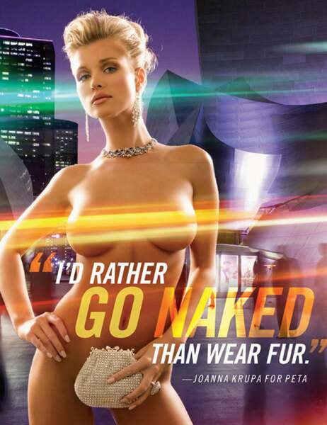 Joanna Krupa pour la Peta