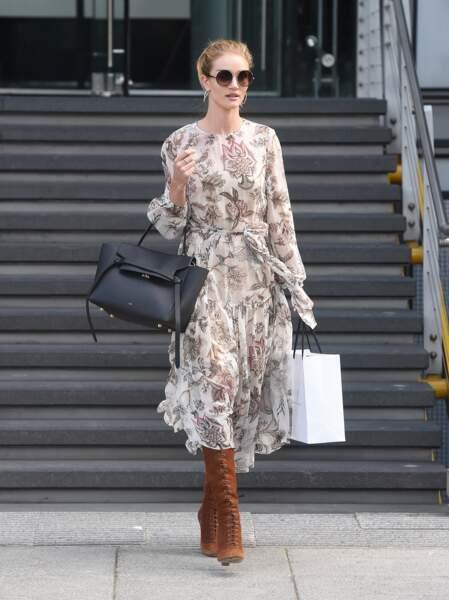 Rosie Huntington-Whiteley robe Zimmerman