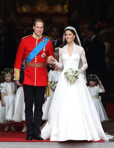 Le mariage est célébré le 29 avril 2011 en l'abbaye de Westminster