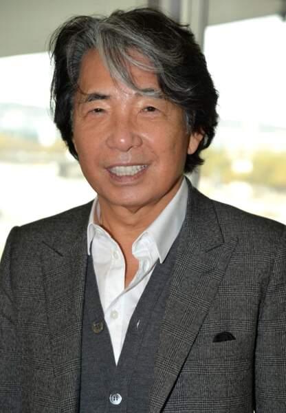 Le monde la mode également récompensé avec Kenzo Takada, nommé chevalier de la Légion d'honneur