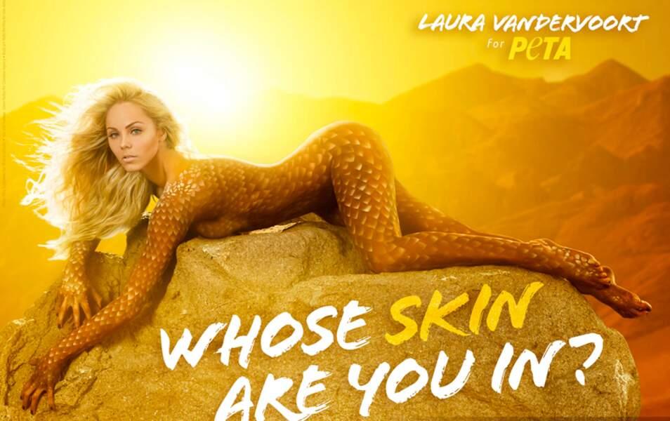 Laura Vandervoort pour la Peta