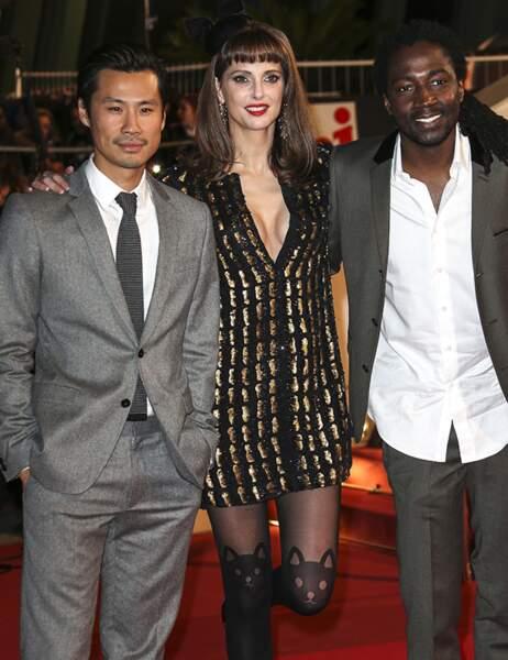 Frédérique Bel, Frédéric Chau et Noom Diawara