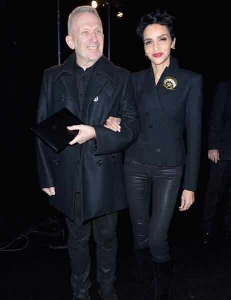 Jean Paul Gaultier et Farida Khelfa