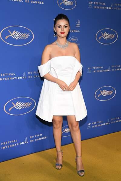 Do : Selena Gomez à la soirée d'ouverture du 72ème Festival de Cannes