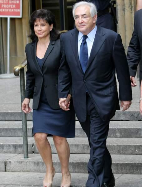Dominique Strauss-Kahn et Anne Sinclair, les vrais