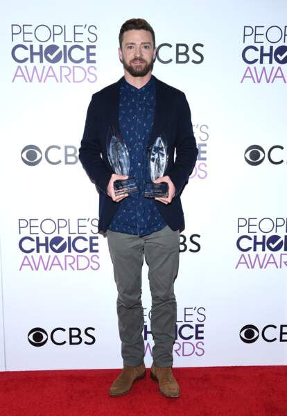 People's Choice Awards 2017 : Justin Timberlake, récompensé pour Can't Stop the Feeling