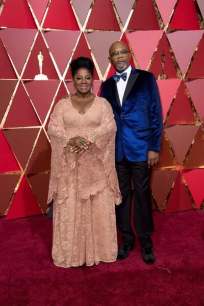 Les plus beaux couples des Oscars 2017 : LaTanya Richardson et Samuel L. Jackson