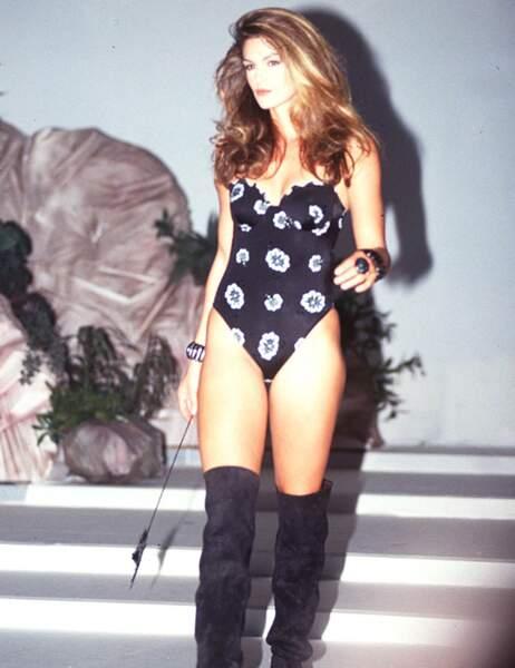 Cindy Crawford en 1993