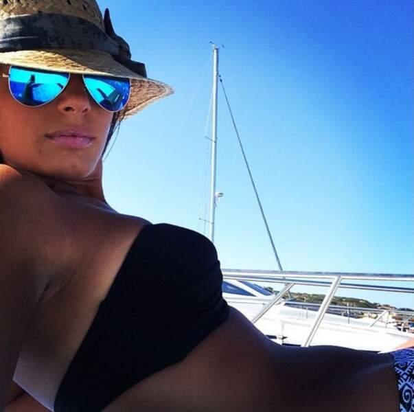 Euro 2016 : voici la très sexy Ilena Atzori, compagne du joueur italien Alessandro Florenzi