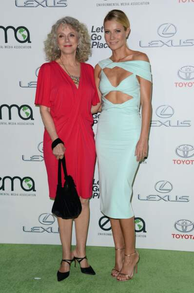 Gwyneth Paltrow et sa maman, Blythe Danner