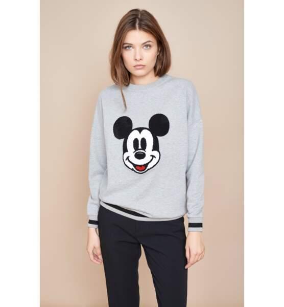 Sweat pop Mickey, MKT, 85€
