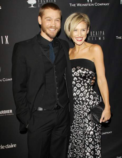 Chad Michael Murray, Nicky Whelan et leurs beaux sourires