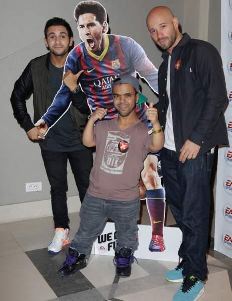 Les Kaïras ont aimé posé avec Messi
