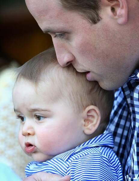 George écoute attentivement son père