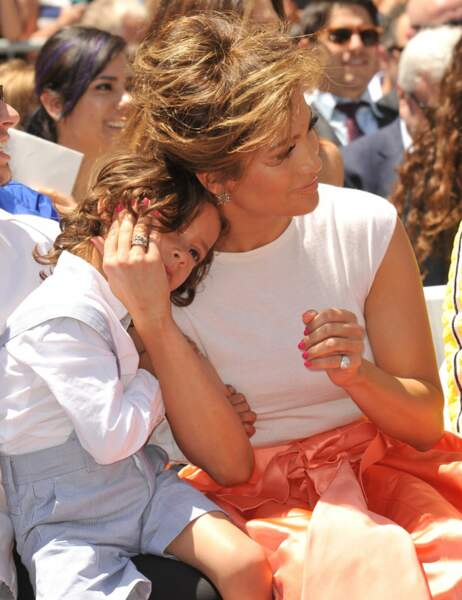 Jennifer Lopez et son fils Max