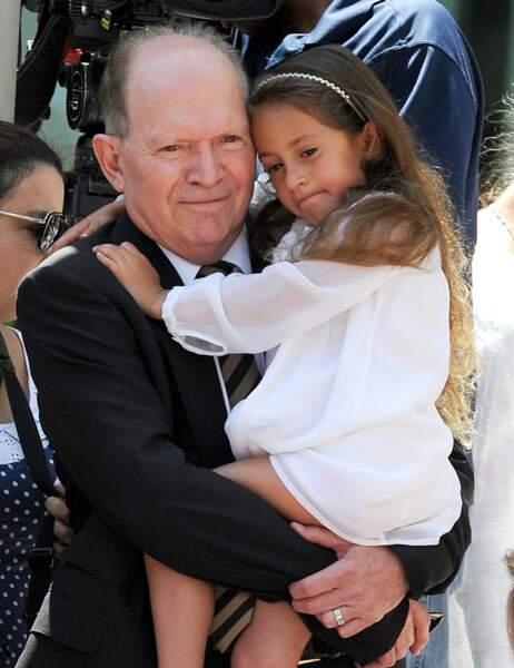 Le papa de Jennifer Lopez, David et sa petite-fille Emme