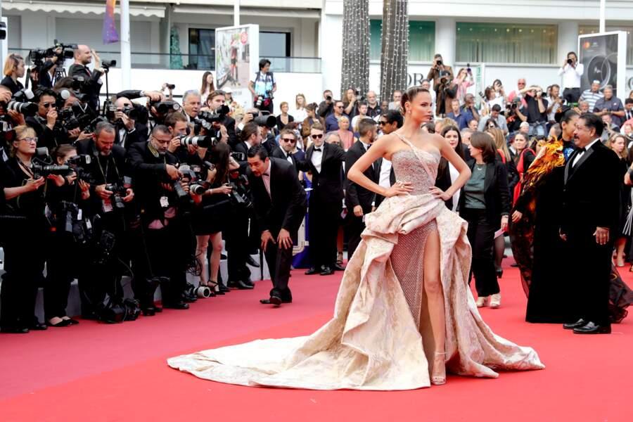 Natasha Poly au Festival de Cannes 2019